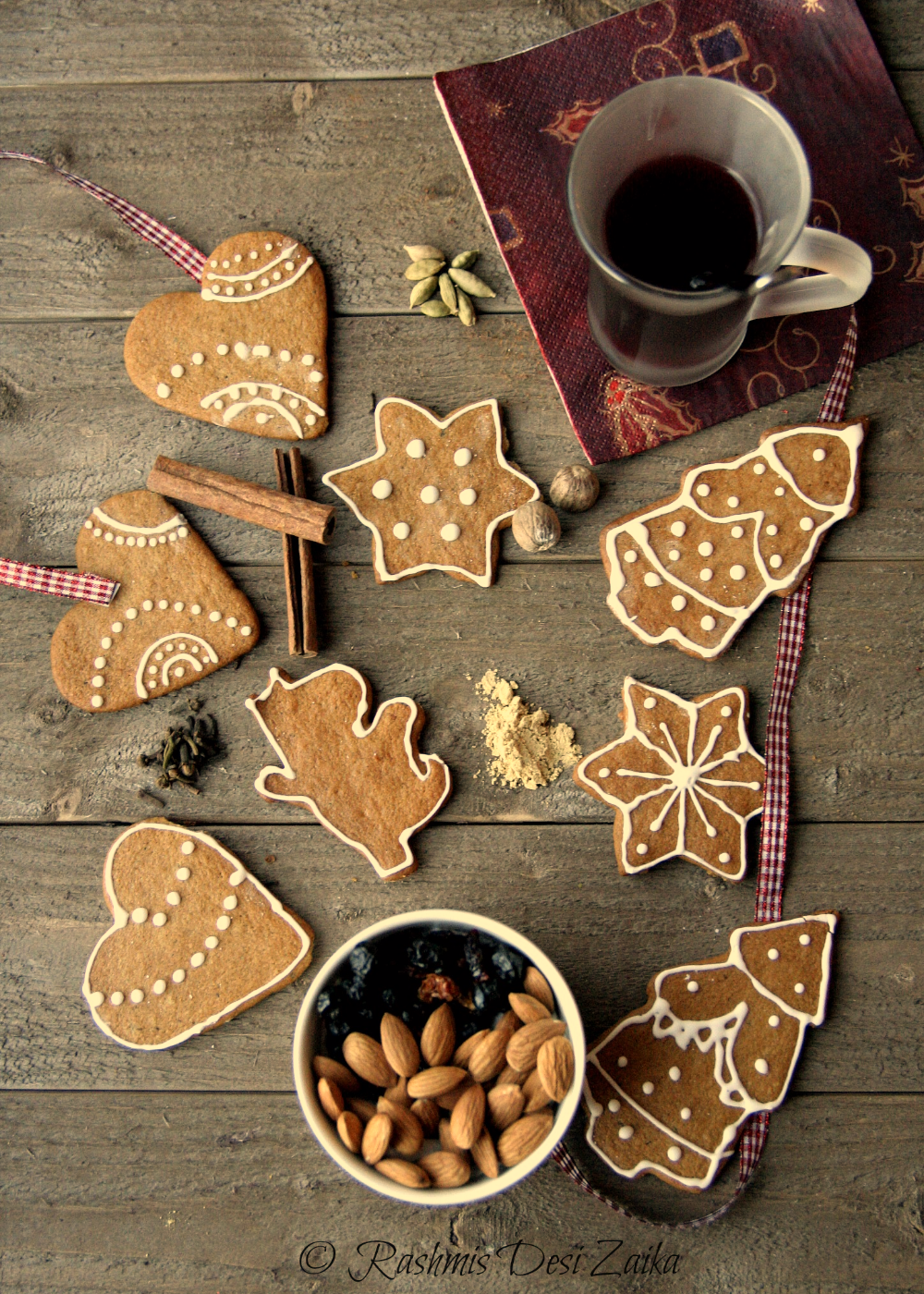 Piparkakku-Traditional Finnish Christmas Cookies