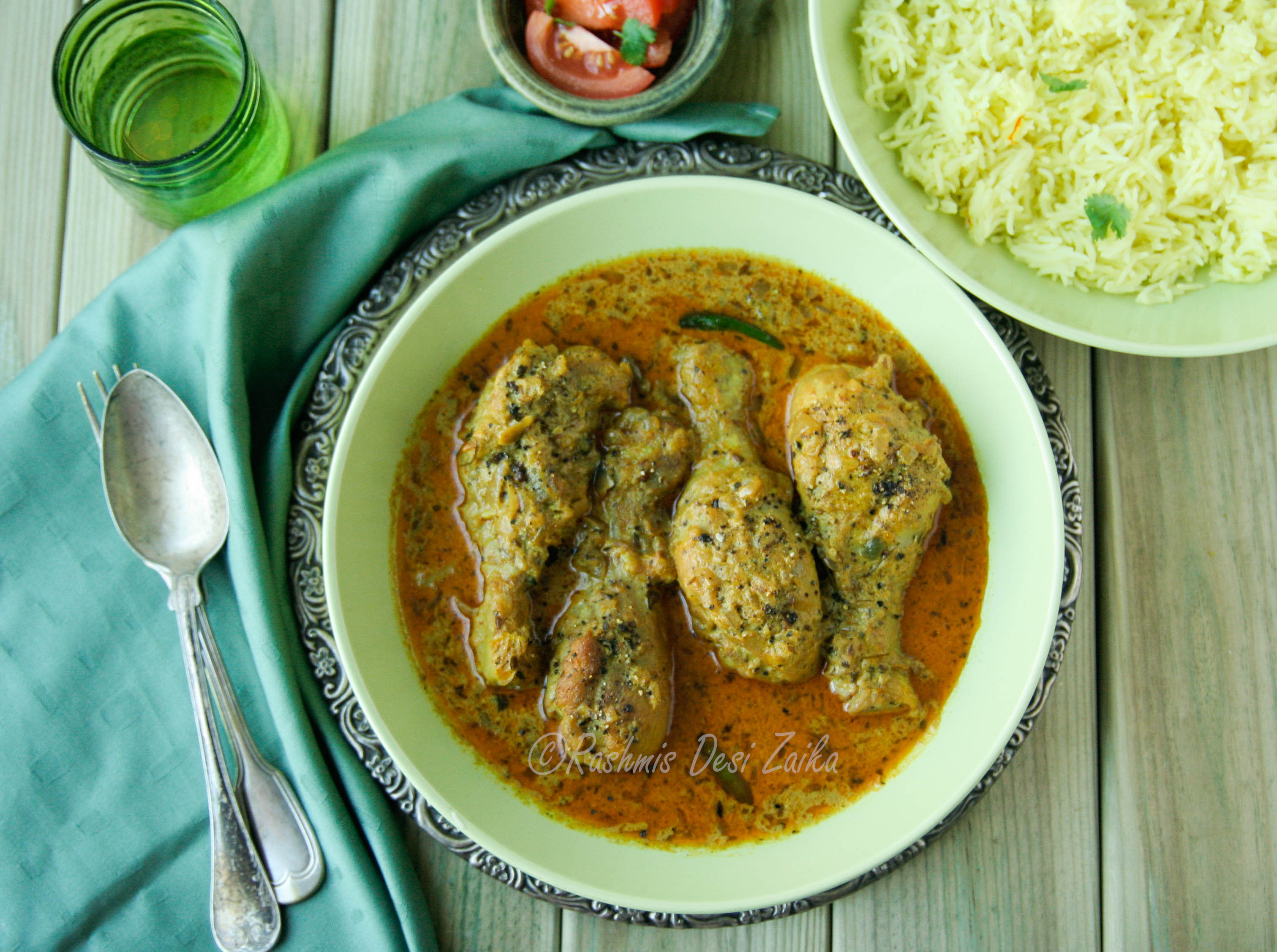Murgh Kali Mirch-Black Pepper Chicken