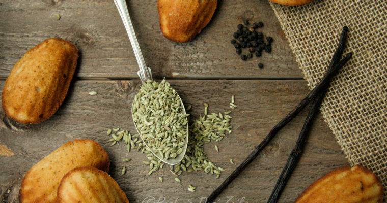 Spiced Whole Wheat Flour Madeleines