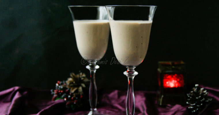 Christmas Special-Spiced Chocolate Kahlúa Eggnog