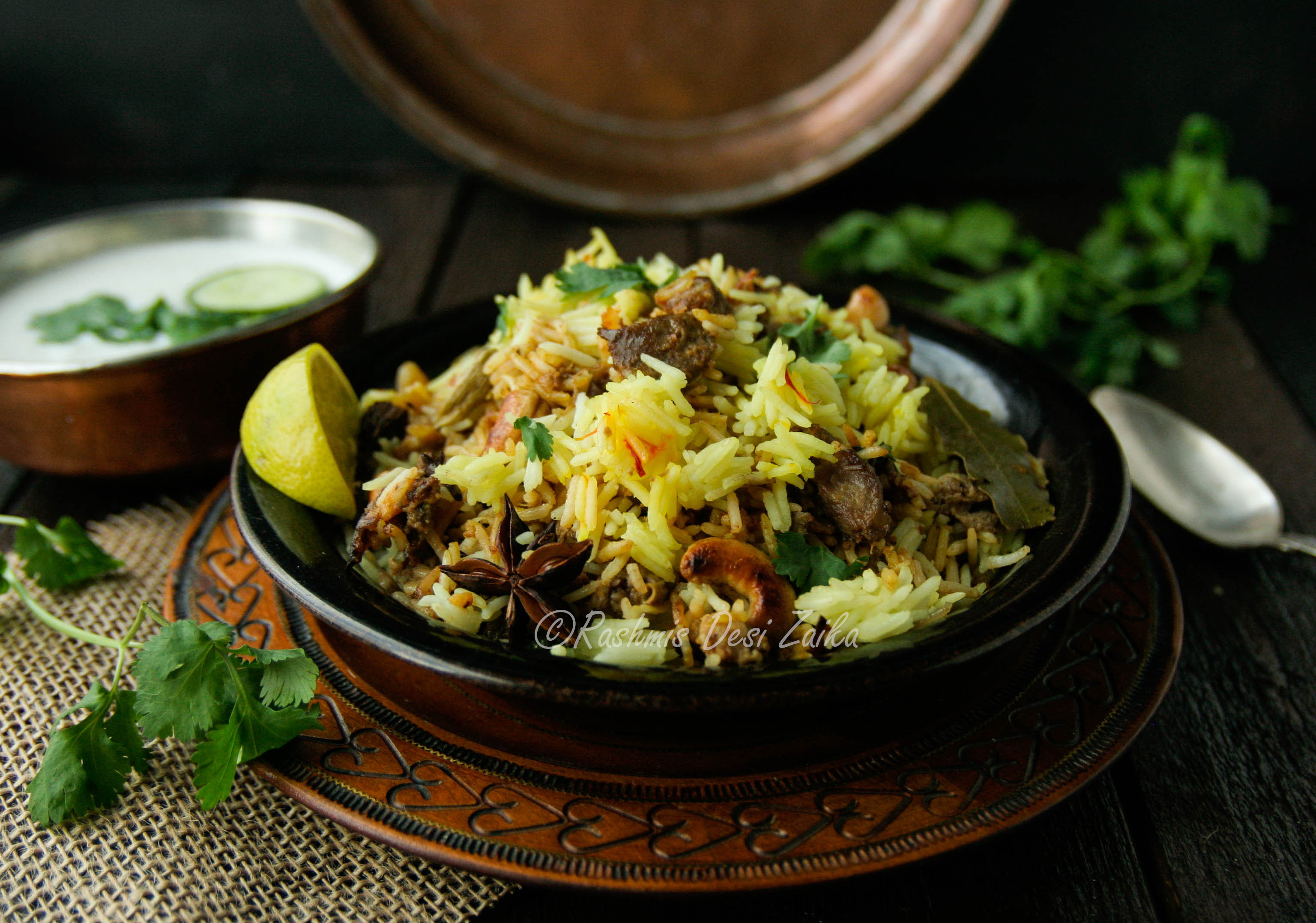 Hyderabadi Lamb Biryani