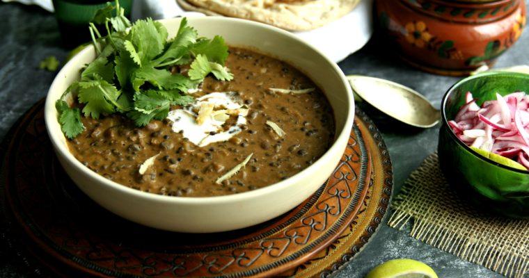 Slow Cooked Dal Makhani