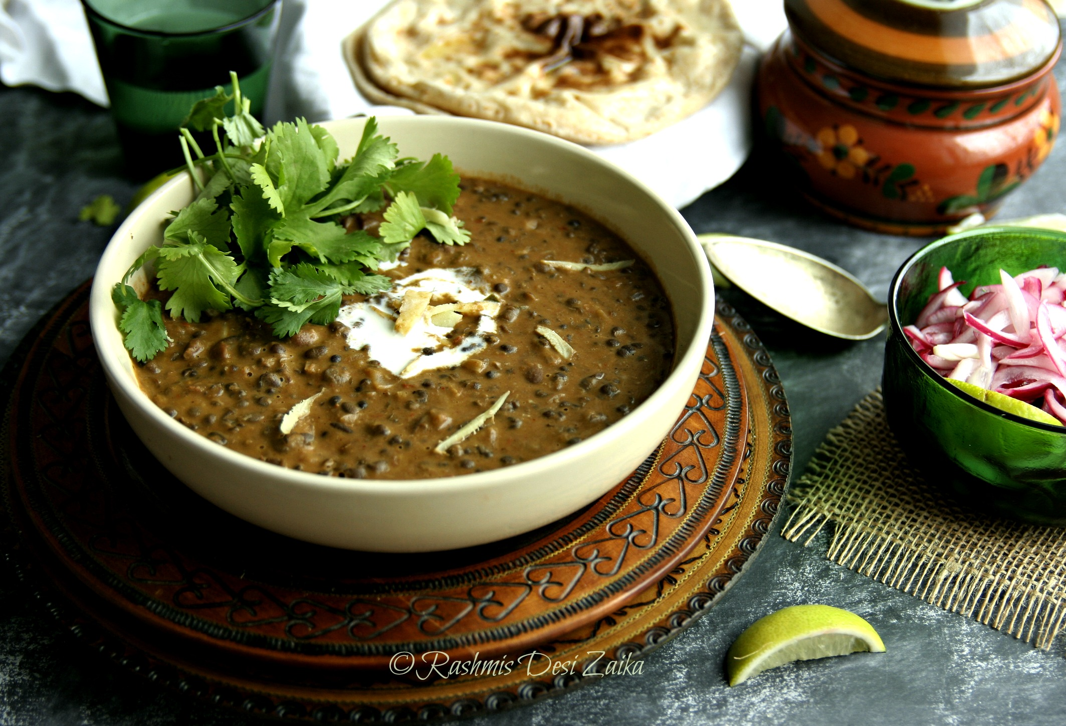 Slow Cooked Dal Makhani