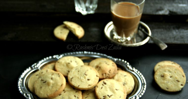 Jeera Biscuits-Cumin Spiced Biscuits