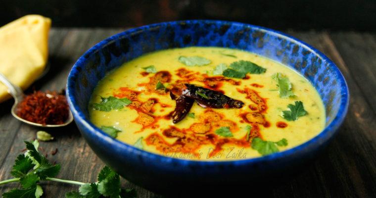 Smoked Sultani Dal